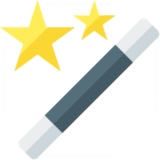 Iconexperience G Collection Magic Wand Icon