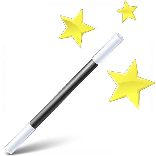 Iconexperience V Collection Magic Wand Icon
