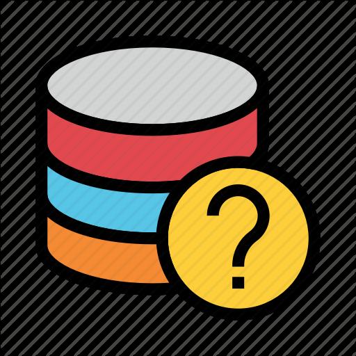 Database, Help, Mainframe, Server, Storage Icon