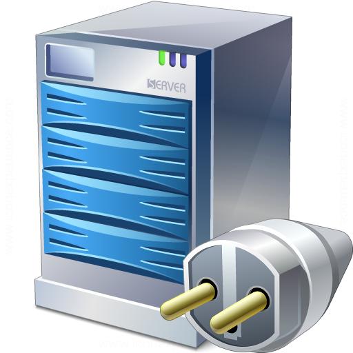 Iconexperience V Collection Server Connection Icon