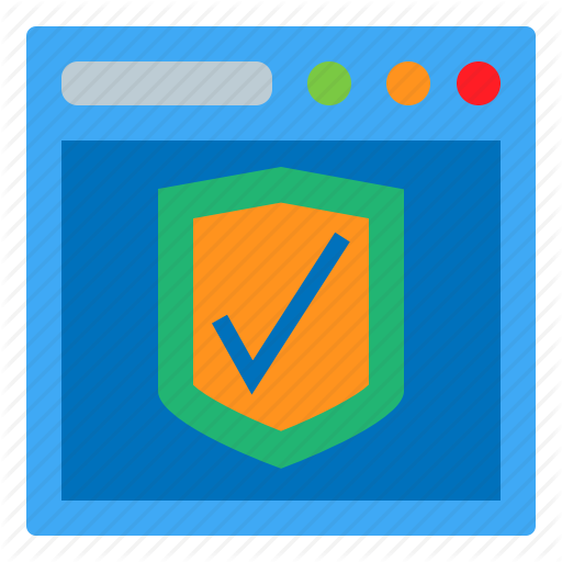 App, Browser, Protection, Shield Icon