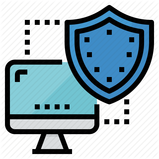 Computer, Lock, Secure, Security, Shield Icon