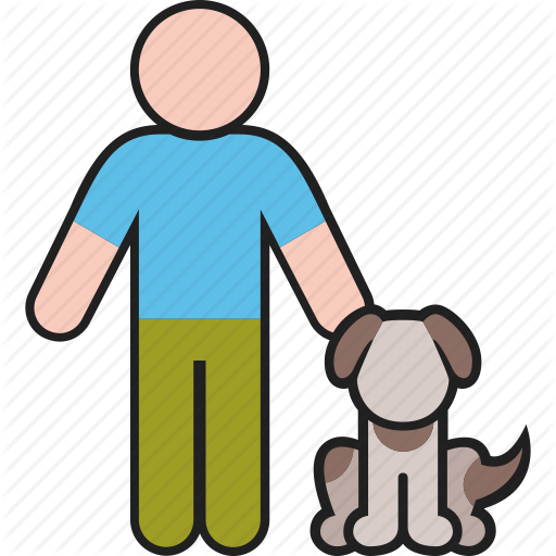Animal, Dog, Male, Man, Pet, Puppy Icon