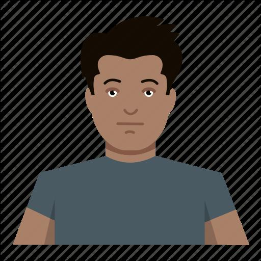Basic, Boy, Headshot, Male Icon