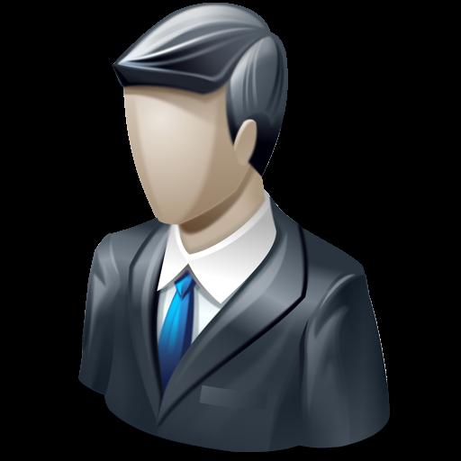 Business Man, Customer, Male Icon