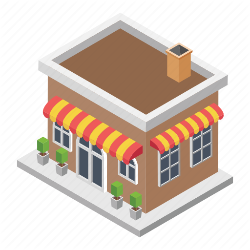 Market, Shopping Centre, Shopping Mall, Shopping Place, Store Icon