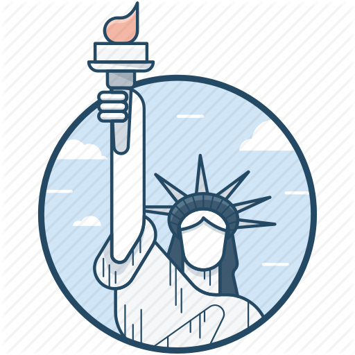 Landmark, Monument, New York City, Sculpture, Statue Of Liberty Icon