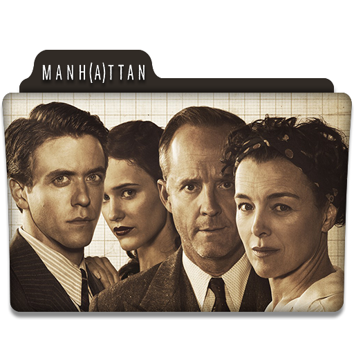 Manhattan Tv Series Folder Icon