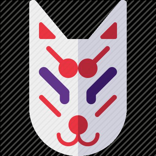 Character, Fox, Kitsune, Mask Icon