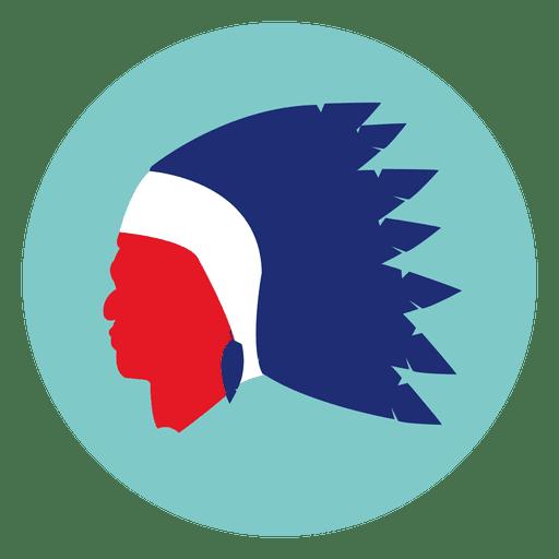 Native Mask Round Icon