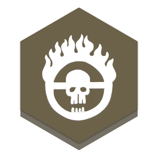 Mad Max Honeycomb Icon