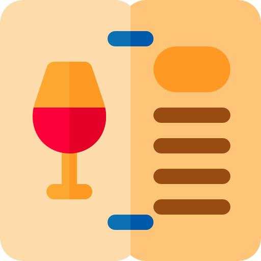 Wine Menu Icon Hotel Service Freepik