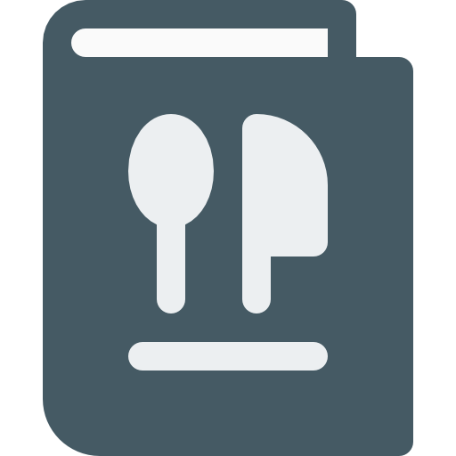 Restaurant Menu Icon Food Pixel Perfect
