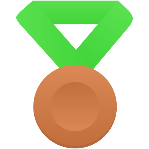 Bronze Metal Green Icon Flatastic Iconset Custom Icon Design
