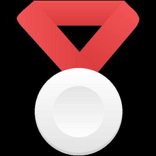 Silver Metal Red Icon Flatastic Iconset Custom Icon Design