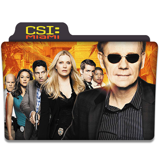 Csi Miami Tv Series Folder Icon