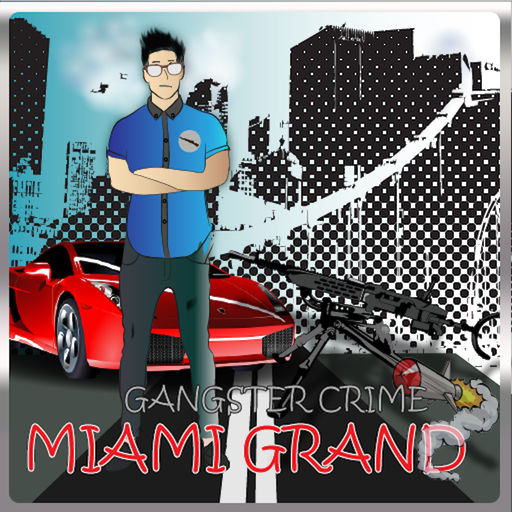 Miami City Crime Gangster Great Fight