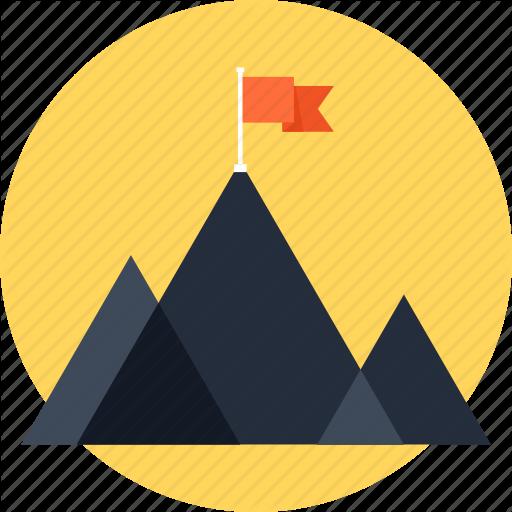 Achievement, Chart, Flag, Goal, Marketing, Mission, Mountain