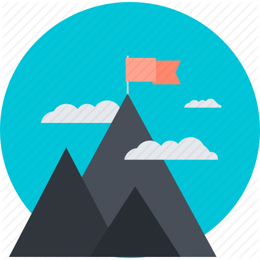 Discover, Explore, Mission, Mountain, Nature, Success Icon