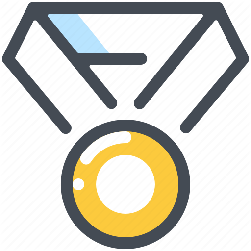 Achievement, Award, Champion, Honor, Medal, Winner Icon