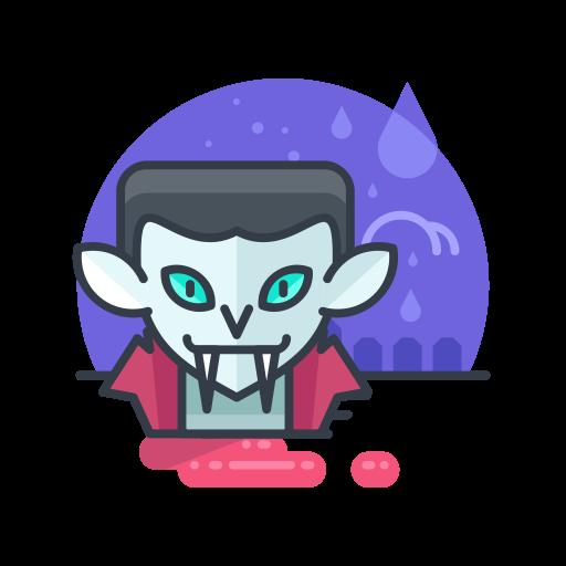Halloween, Monster, Vampire, Spooky, Scary, Costume Icon