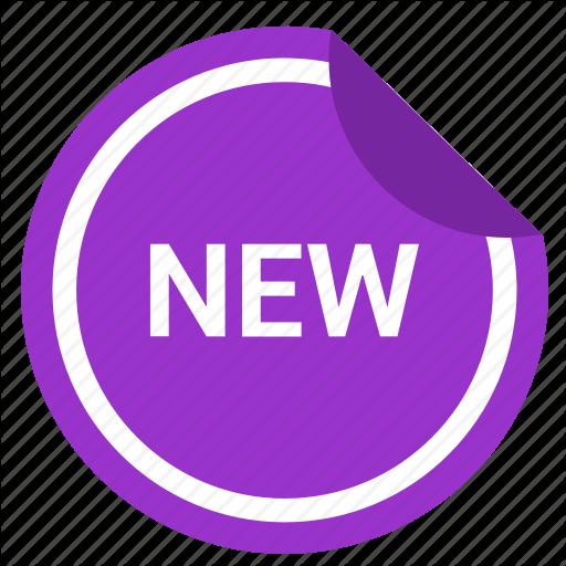 Label, New, News, Sticker Icon