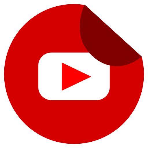 Youtube, Red, Social Networks, Stickers Icon Free Of Social