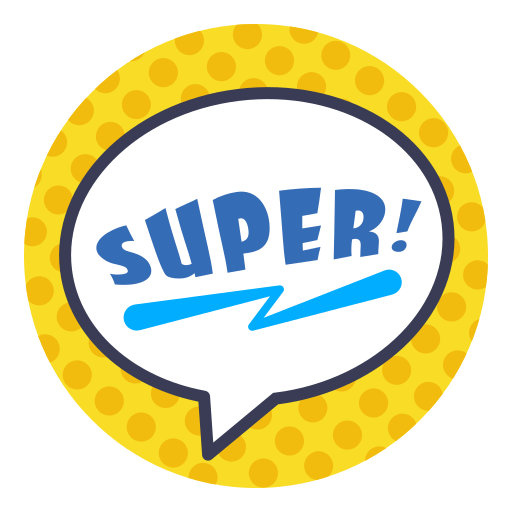Word, Super, Sticker Icon Free Of Photo Stickers Words