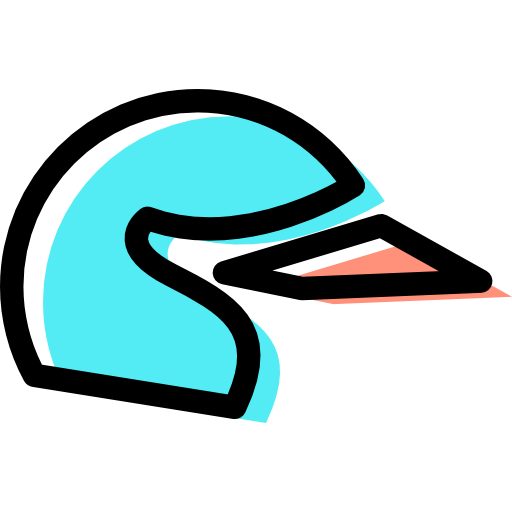 Motocross, Safe, Equipment, Helmet Icon