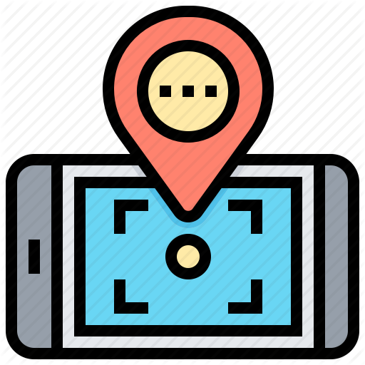 Gps, Location, Pin, Smartphone, Technology Icon