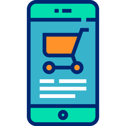Smartphone Ecommerce Png Icon