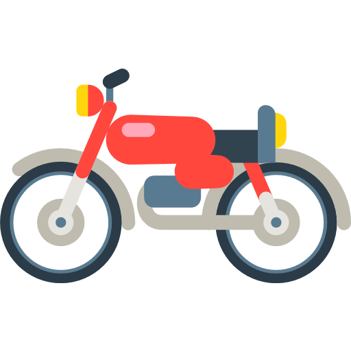 Racing Motorcycle Emoji For Facebook, Email Sms Id