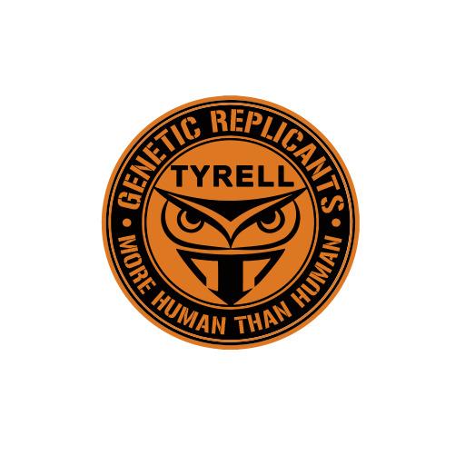 Tyrell Corporation Blade Runner Logo Decal Vinyl Sticker Ebay