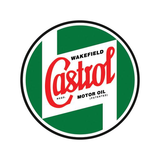 Vintage Castrol Oil Gasoilne Decal Stickers Tin Bottle Drum Garage