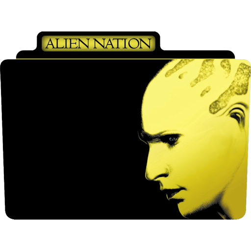 Alien Nation Icon Tv Movie Folder Iconset Aaron Sinuhe