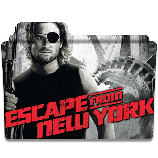 Escape From New York Folder Icon