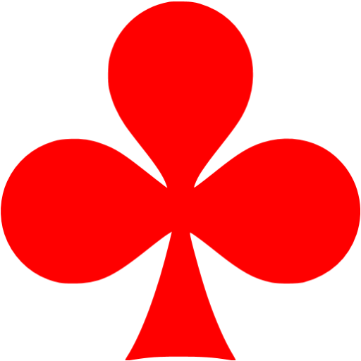 Red Clubs Icon