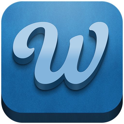 Wherapp Logo And App Icon! The New And Free Social Network That