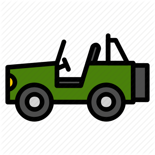 Car, Jeep, Offroad, Trails, Transportation, Vehicle Icon