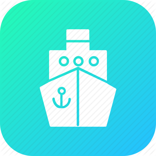 Canal, Offshore, Oil, Platforn, Supply, Transport, Vessel Icon