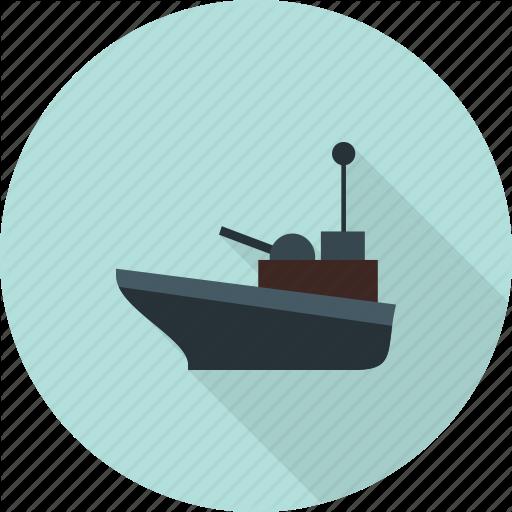 Canal, Offshore, Platform, Supply, Transport, Vessel, Worker Icon