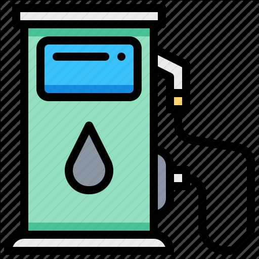 Car, Oil, Refuel, Service, Station Icon