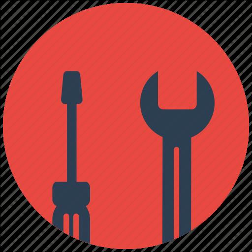 Design, Flat Icon, Optimization, Seo, Services, Web, Wrench Icon