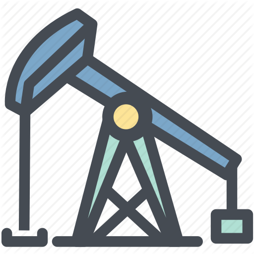 Drilling, Gas, Industry, Oil, Oil Derrick, Oilfield, Power Icon