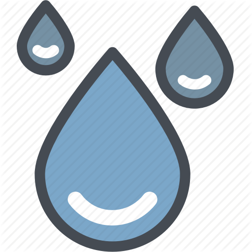 Drop Water, Gas, Industry, Liquid, Oil, Power, Raining Icon