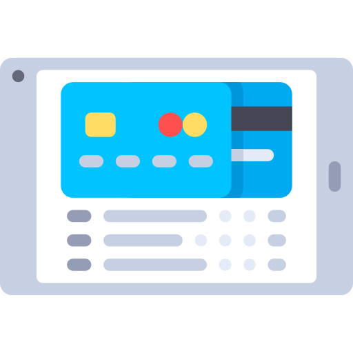 Online Banking Bank Png Icon