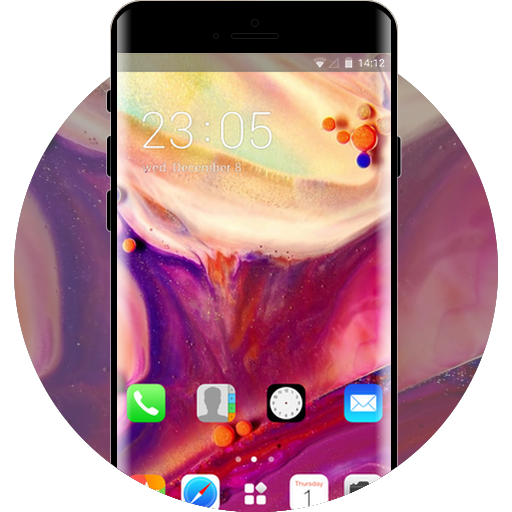 Iphone Theme Free Android Theme U Launcher