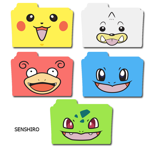 Folder Icon Pokemon