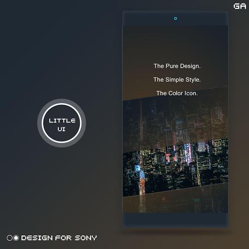 Xperia Theme A Dark Design For Sony Apk