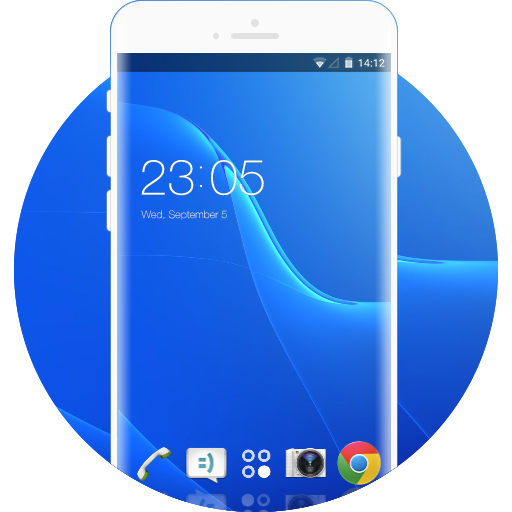 Sony Xperia Dual Free Android Theme U Launcher